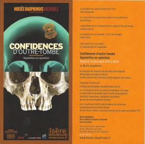 Exposition confidences d'outre-tombe